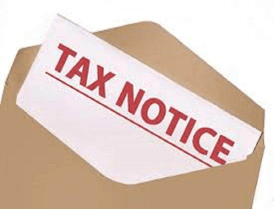 edited tax notice